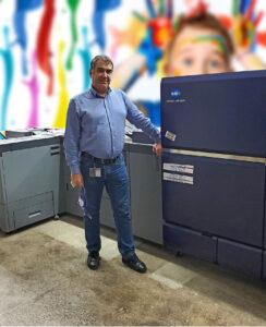 United Colors Team estimează o amortizare a investiției AccurioPress C14000 în aproximativ 3 ani